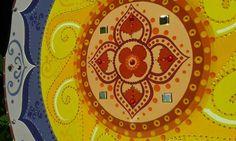♥ 13 - 45cm de Mandala - Disponível para pronta entrega