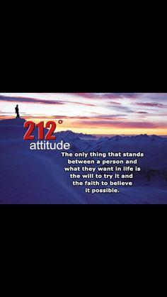 212 degrees - attitude
