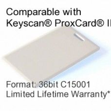 Clamshell Proximity Card - Keyscan® Compatible, 36bit C15001 Event Security, Proximity Card, Access Control, Control System, Printable Cards, Attendance, Products, Printable Maps, Gadget