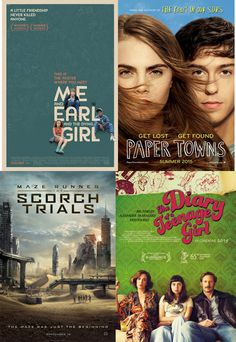 A crop of new YA movie adaptations is coming to theaters this summer.