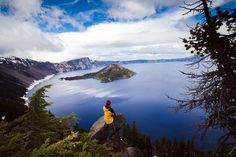 Crater Lake National Park, in Oregon. It still looks the same three years later.