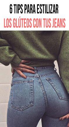 Aunque no lo creas, los jeans son una prenda demasiado valiosa para las mujeres, no son sólo cómod Cool Outfits, Casual Outfits, Fashion Outfits, Womens Fashion, Fashion Tips, Kim Kardashian, Beste Jeans, Estilo Rock, Girl Life Hacks