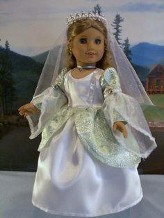 Fantasy Princess Fits American Girl Caroline Elizabeth 18 in Dolls | eBay