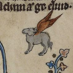 upennmanuscripts: Winged donkey. Manuscript description and...
