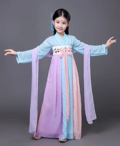 Chinese Traditional Costume, Traditional Dresses, Costumes For Teens, Girl Costumes, Hanfu, Cheap Dresses, Girls Dresses, Chinese Clothing, Costume Dress