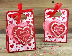 Valentine Treat Box with Chic n Scratch, Stampin' Up! Demonstrator Angie Juda My project for you today is a Valentine Treat Box and it will hold a variety Valentines Day Treats, Valentine Box, Valentine Day Crafts, Kids Valentines, Valentine's Cards For Kids, Print Box, Treat Holder, Crafty Projects, Stamping Up