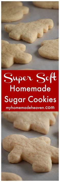 This is our favorite sugar cookie recipe! It's so versatile it'll work for any occasion!