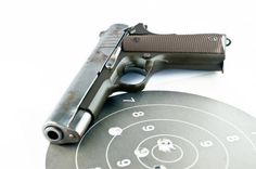 The most common firearms problems that people have is jerking their firearm so that they are shooting groups are below the bulls eye. Sometimes the group is loose.