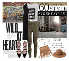 """""""60 second style #1."""" by statisticam ❤ liked on Polyvore featuring Anja, Sinclair, Violeta by Mango, H&M, French Connection, Forever 21, Patchington and Zara"""