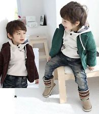 Kids Boys Clothing Blazer Jacket Corduroy Long Sleeve Suit Coat Size  OMG, the boots and sweater put it over the top for me! Sooooo cute!