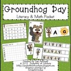 Wake Up, Mr. Groundhog! is a fun set of math and literacy work stations for Pre-K or Kindergarten.  These work stations will have your students pra...