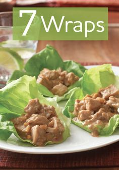 Wraps are great meal idea! So try all these delicious recipes tonight.