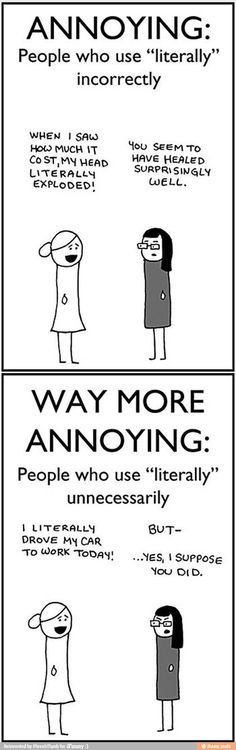 Annoying people