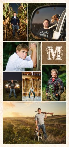 Coon Rapid and Jeffersion Iowa senior photos by McClanahan Studio. Corn field, pickup truck, barn and hunting portraits Senior Boy Poses, Senior Portrait Poses, Senior Guys, Senior Year, Senior Session, Male Portraits, Girl Poses, Hunting Senior Pictures, Male Senior Pictures