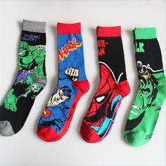 9572de1e917 Men Cotton Funny Batman Socks (5 Designs)