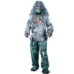 This child gruesome zombie costume is a scary Halloween costume for kids. Get this gruesome zombie costume for boys for a frightening costume for Halloween. Dark Costumes, Zombie Halloween Costumes, Theme Halloween, Boy Costumes, Halloween Kids, Costume Ideas, Children Costumes, Fantasy Costumes, Halloween Halloween