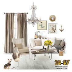 """""""Untitled #100"""" by annie-qiu ❤ liked on Polyvore featuring interior, interiors, interior design, home, home decor, interior decorating, Threshold, Visual Comfort, Currey & Company and Universal Lighting and Decor"""