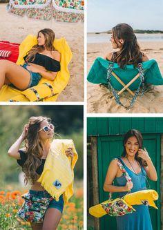 Brilhos da Moda: Para uma ida à praia