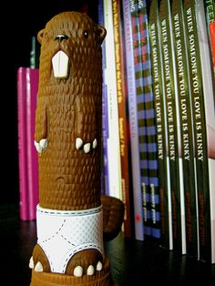 Barry the Beaver – your vinyl vibrating friend, courtesy of Jeremy Fish