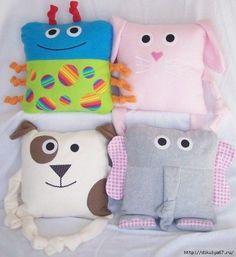 Шьем подушечки для деток. Идеи для вдохновения… (7 фото)