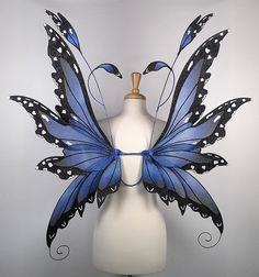 Butterfly Pattern | ... Fairy Wings in Blue Morpho Butterfly Pattern | Flickr - Photo Sharing
