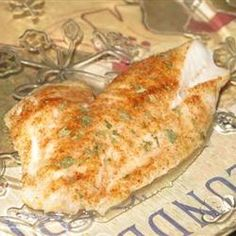 This is a very simple baked fish technique that I use with grouper but it works with other ocean fish too. Super Grouper Recipe, Grouper Recipes, Fish Recipes, Seafood Recipes, Great Recipes, Cooking Recipes, Favorite Recipes, Healthy Recipes, Diet