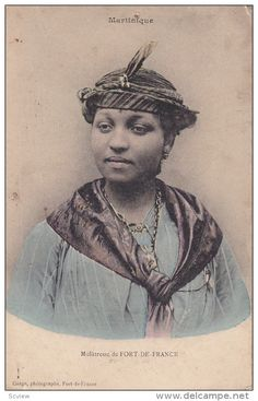 Mulatresse De FORT-DE-FRANCE, Woman In Typical Costume, MARTINIQUE, France, 1900-1910s