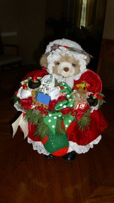 Apple Whimsey - The Night Before Christmas Bear