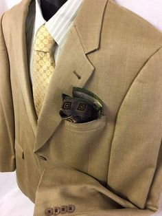 Murano Mens Sport Coat Size 44L Brown Birdseye Silk Worsted Wool 2 Button EUC #Murano #TwoButton