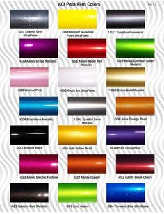 Auto colors...