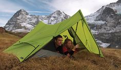 No tent poles- uses trekking poles to save weight! Best Backpacking Tent, Camping Gear, Outdoor Life, Outdoor Gear, Hiking Essentials, Tent Poles, Adventure Gear, Outdoor Brands, Hiking Trails