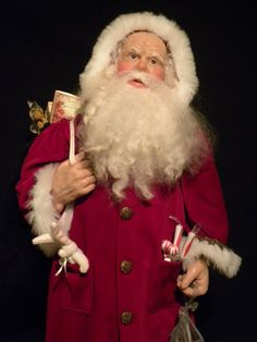 Holiday Santa by Jprond on Etsy