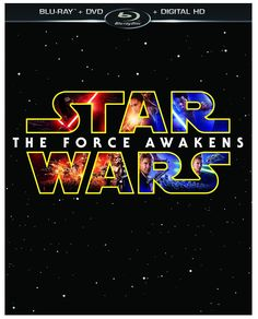 Star Wars: The Force Awakens -- anyone excited to see this movie again. Movie Blu-ray and DVD.