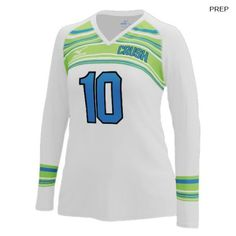 798a57838 Mizuno Women s 440380 (Custom   Sublimated) Long Sleeve Jersey