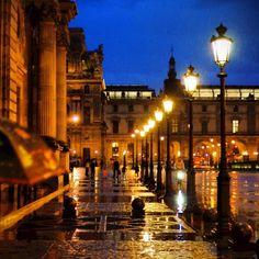 파리의 비내린 밤거리(2), 2012-10 #photodang #paris #street #night #nikon #d90