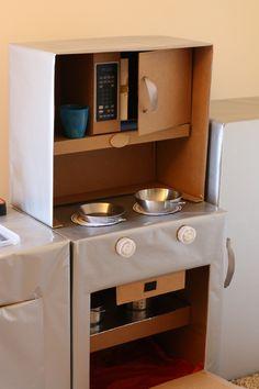 Kinderküche selber bauen DIY Idee