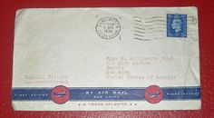 England US First Flight Envelope English Clipper London Montreal April 6 1939 $2.99