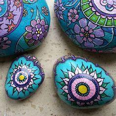 Mal på sten #malpåsten#posca#paintstones#paint#painting