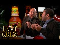 Key & Peele Lose Their Minds Eating Spicy Wings | Hot Ones - YouTube