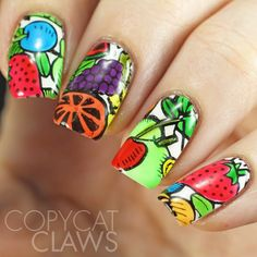 Fruit Nail Leadlighting with Pueen 95