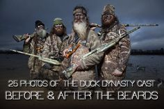 25 Stylish Photos of Duck Dynasty: Before & After The Beards