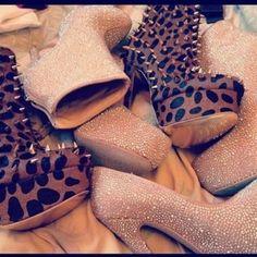 Glitter. Leopard Print. Love.