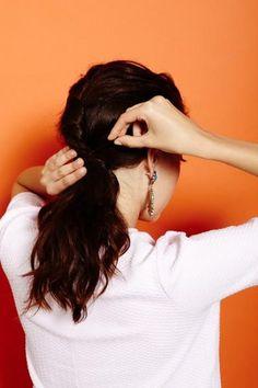 5 fresh ponytail hairstyles to try! (Photo by Winnie Au)