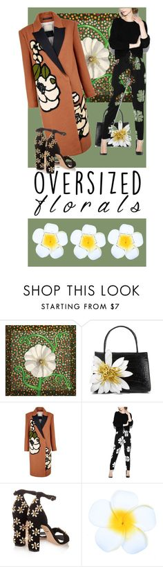"""""""Forals"""" by fernshadowstudio-com ❤ liked on Polyvore featuring Nancy Gonzalez, By Malene Birger and Dolce&Gabbana"""