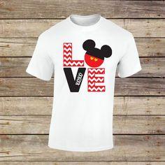 Mickey Love XOXO Shirt