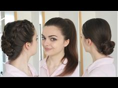 Hairstyles for Greasy Hair - YouTube