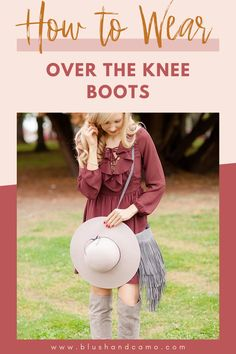 So, you have your new over the knee boots, but you don't know what outfit to wear them with. I can help you with that! Come on in and see my do's and don'ts when it comes to over the knee boots! I'll give you a little sneak peak, they are definitely for fall!  #falltrends #falloutfit #femininefashion #dosanddonts