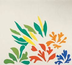 Henri Matisse, Acanthes, 1953     #color