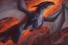Blood of Dragons: The Molten Plains by TylerWalpole.deviantart.com on…