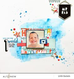 You are my world (Big World Stamp Set)